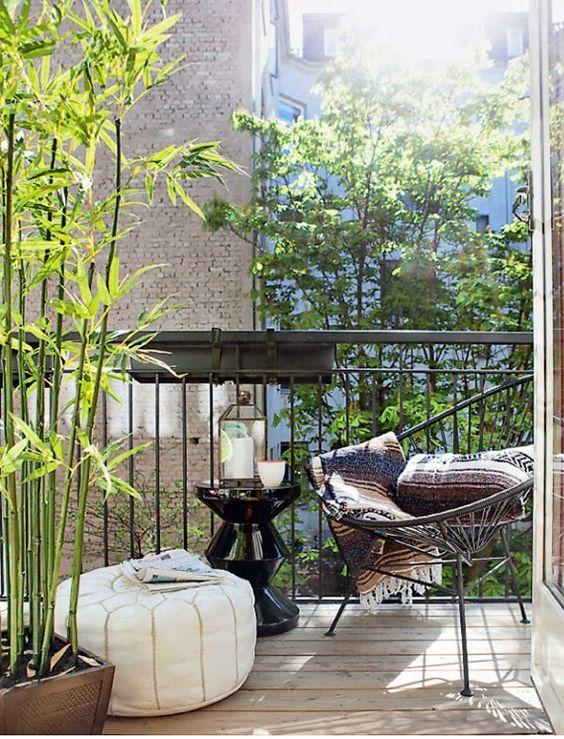 idei pentru amenajarea balconului